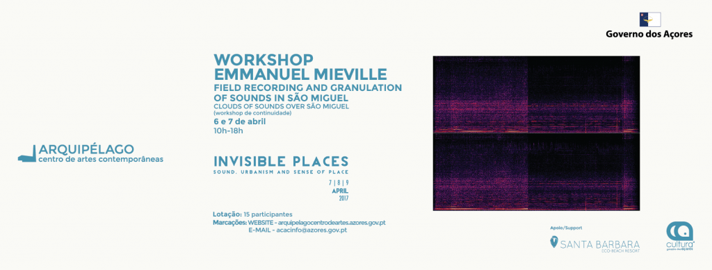 WORKSHOP<br/>Emmanuel Mieville