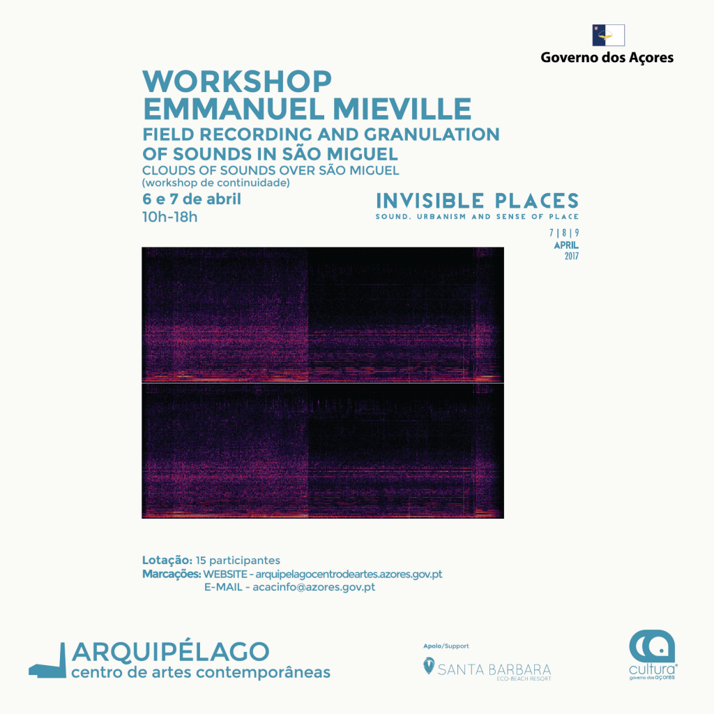 WORKSHOP Emmanuel Mieville