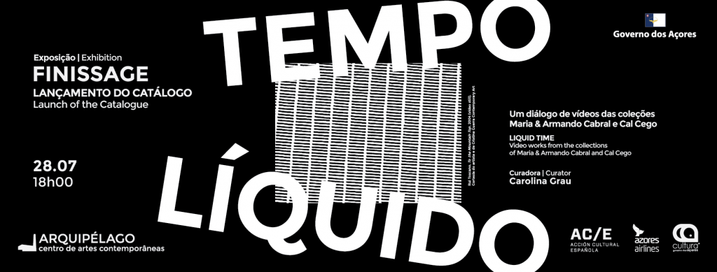 Finissage and launch of the catalogue <br/> of the exhibition <br/> TEMPO LÍQUIDO