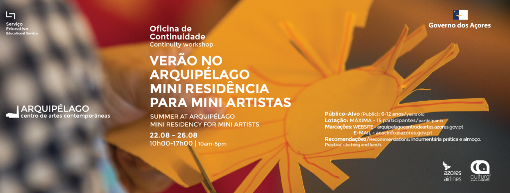 Summer at Arquipélago – Mini residency for mini artists