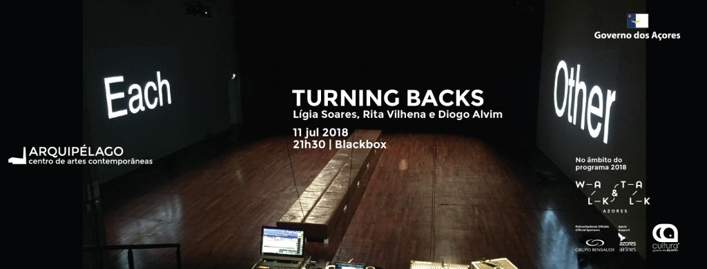 TURNING BACKS </BR> Lígia Soares, Rita Vilhena e Diogo Alvim