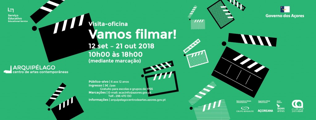 Workshop <br/> Vamos filmar!